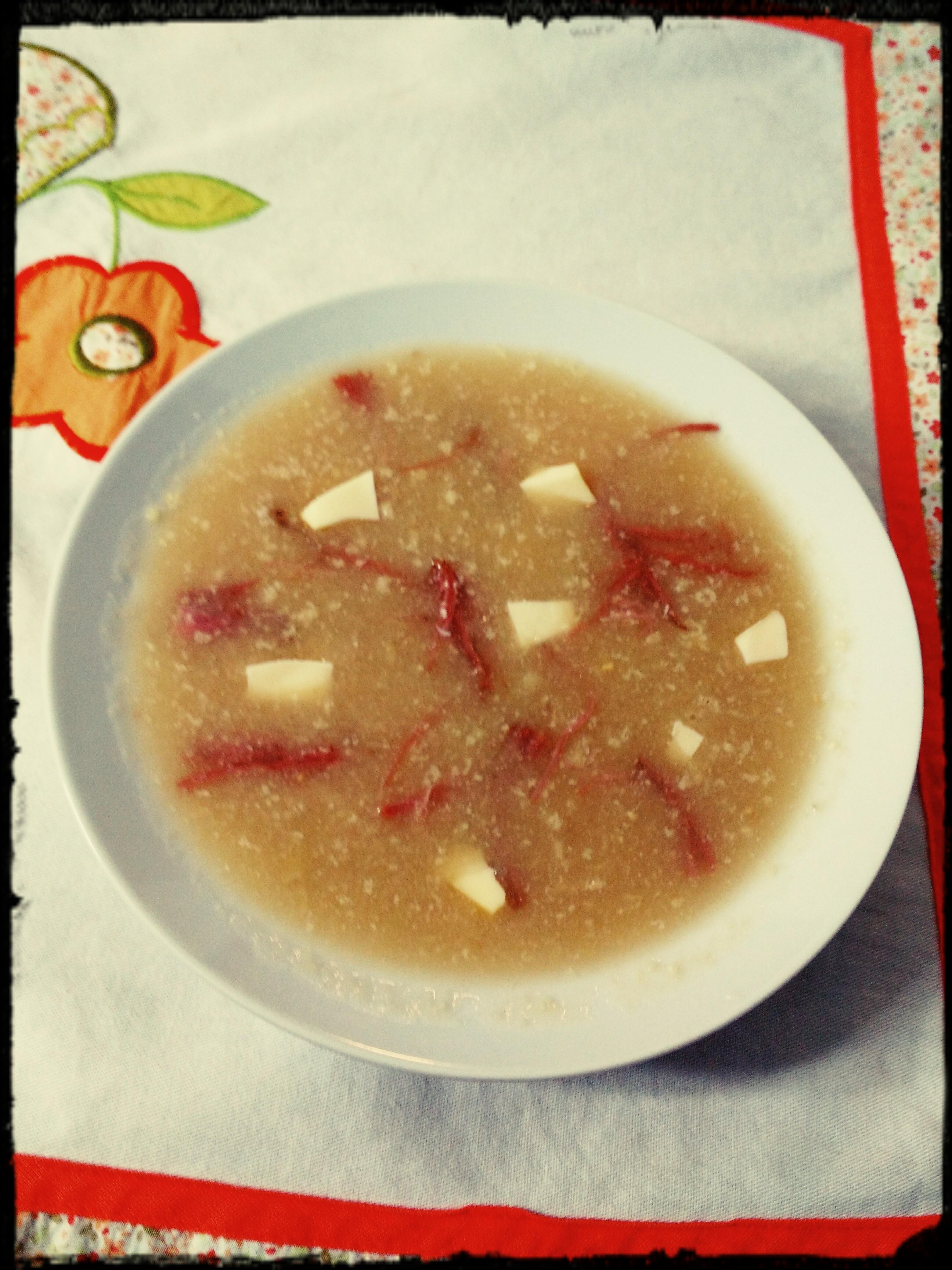 sopa de couve-flor
