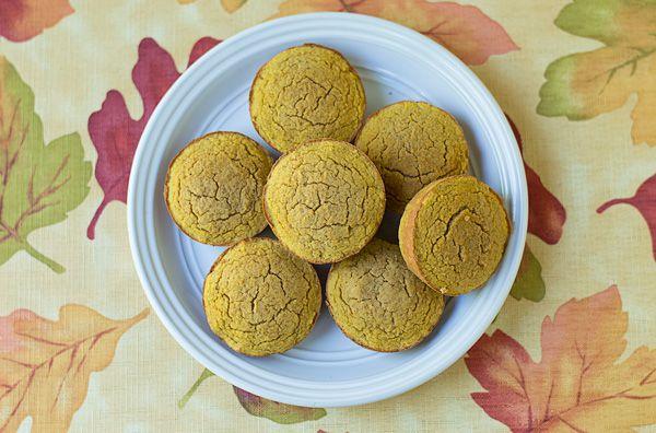 Muffin lowcarb de abóbora
