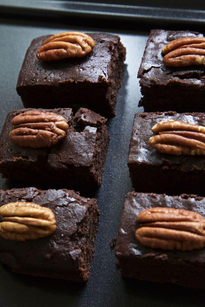 Brownie festivo, diet, sem glúten e sem lactose