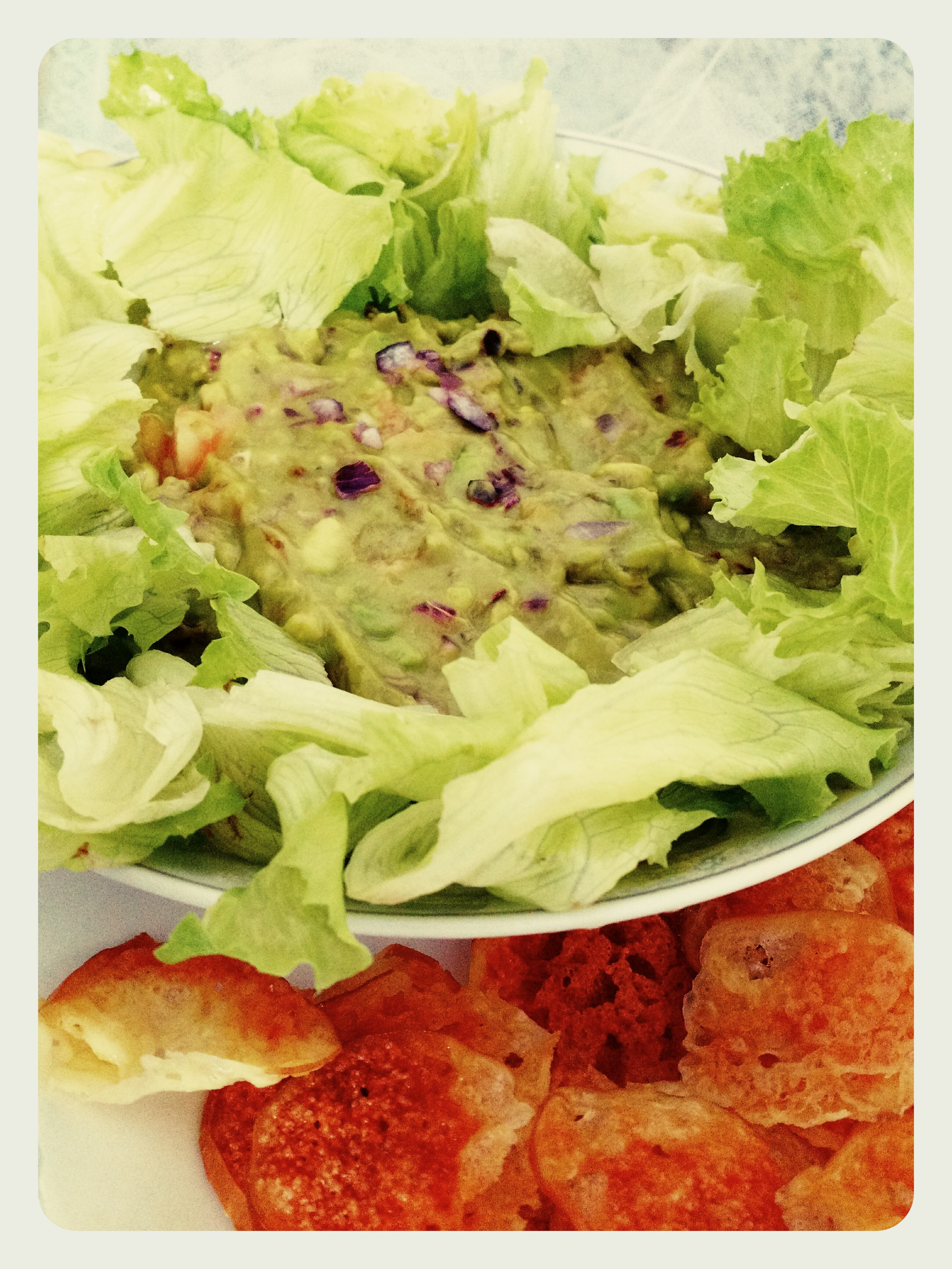 Mexicano light – Guacamole com prov chips